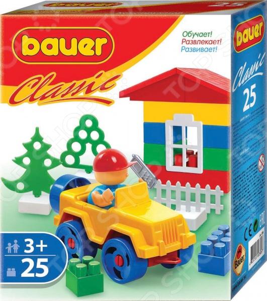 Конструктор игровой Bauer «ЭКО»Игровые конструкторы<br>Конструктор игровой Bauer ЭКО это комплект для увлекательной игры с деталями, с помощью которых можно собрать игрушку. Для этого в комплекте есть всё необходимое. Детский конструктор является достаточно практичным учебным пособием, так как он развивает память, мышление, логику, фантазию, а также моторику рук. Сборка конструктора подарит ребенку массу удовольствия и приятное времяпрепровождение, а помимо этого игра с деталями позволит развить пространственное мышление и воображение!<br>
