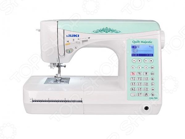 Швейная машина Juki QM-700 швейная машинка juki hzl f 300