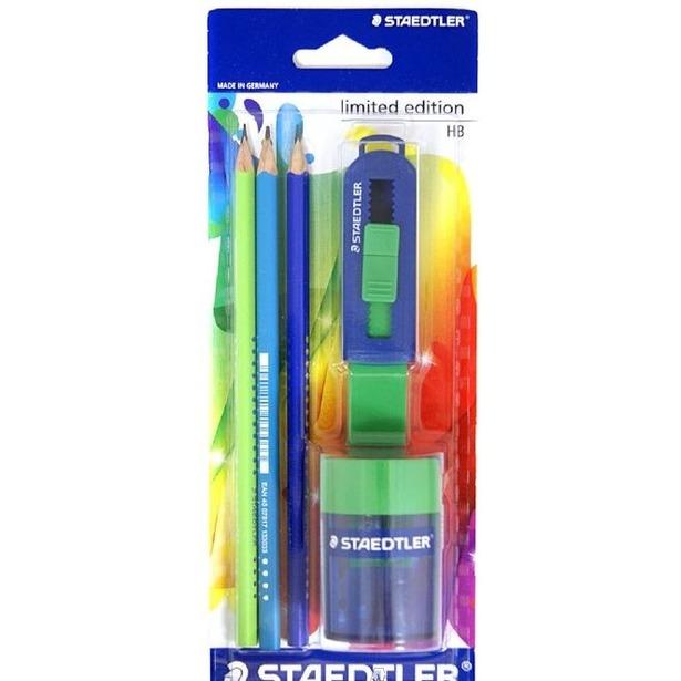 фото Набор карандашей с ластиком и точилкой Staedtler 133SBK3P1