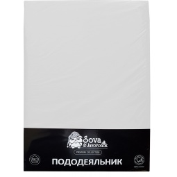 фото Пододеяльник Сова и Жаворонок Premium. Цвет: белый. Размер пододеяльника: 200х220 см