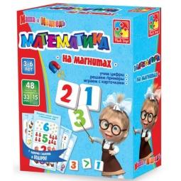 Купить Математика на магнитах Vladi Toys «Маша и Медведь»