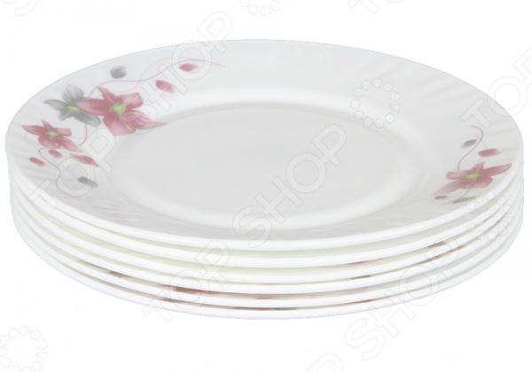 Набор тарелок Rosenberg 1257-3 фляжка rosenberg 3 6l 98361