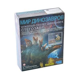 Купить Набор юного археолога 4M «Скелет Стегозавра»