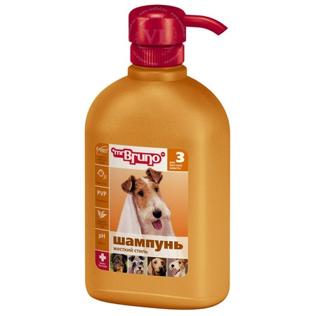 Купить Шампунь для собак Mr.Bruno «Жесткий стиль»