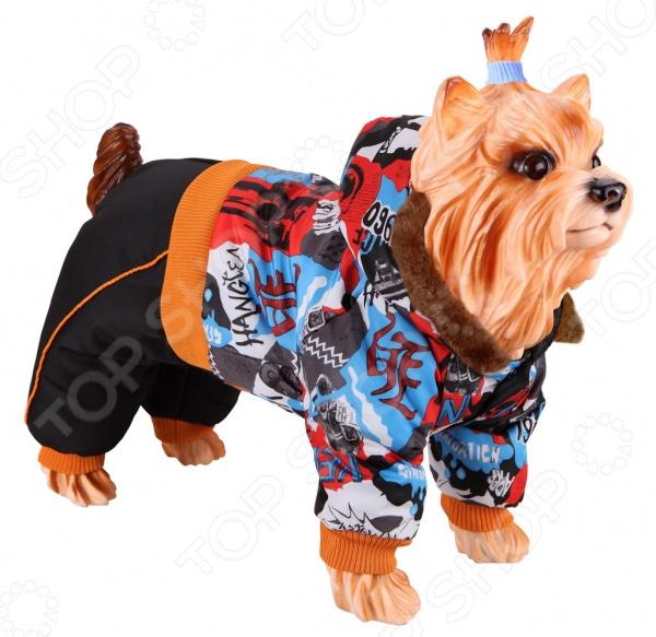 Комбинезон для собак DEZZIE 563564 триол комбинезон зимний микки для собак trio l