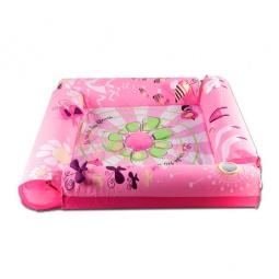 фото Манеж Ludi с надувными бортиками «Цветок»