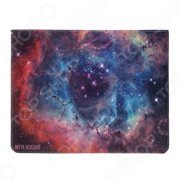 Чехол для iPad Mitya Veselkov «Голубая туманность» цена и фото