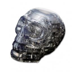 фото Пазл-конструктор 3D Crystal Puzzle «Череп». Цвет: серый