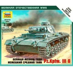 Купить Сборная модель Звезда немецкий средний танк Pz.Kp.fw.III G