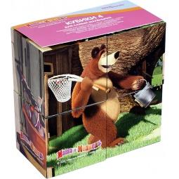 Купить Кубики Step Puzzle «Маша и Медведь» 87132