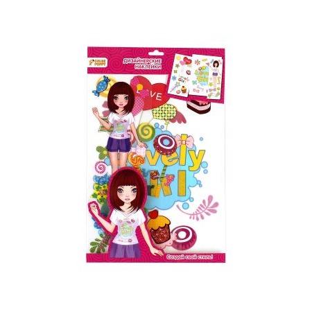 Купить Набор наклеек на одежду Color Puppy Sunny 95217