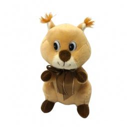 фото Мягкая игрушка со звуком Maxiplay «Белочка Белла с бантом»
