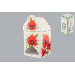 Купить Банка для чайных пакетиков Elan Gallery «Маки»