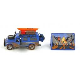 фото Модель коллекционная Пламенный Мотор Land Rover «Путешествие вокруг света»