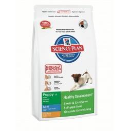 фото Корм сухой для щенков мелких пород Hill's Science Plan Puppy Mini с курицей. Вес упаковки: 3 кг