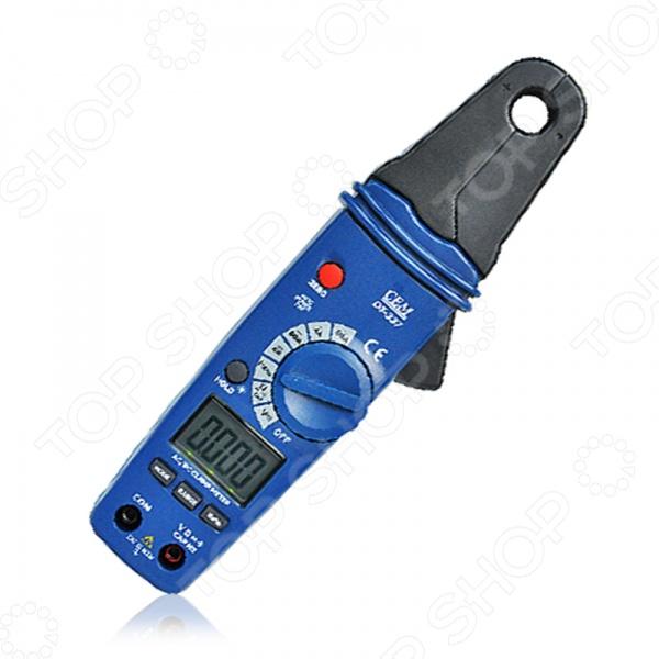 Клещи токовые измерительные СЕМ DT-337  цифровой термогигрометр сем dt 321s 480359