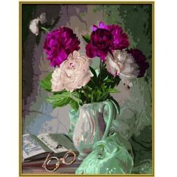 Купить Набор для рисования по номерам Schipper «Пионы в вазе»