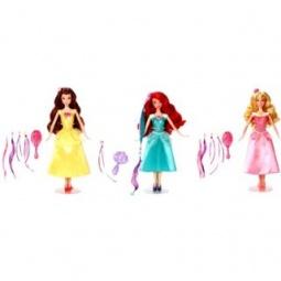 фото Кукла Mattel «Принцесса. Модные прически с аксессуарами». В ассортименте