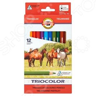 Набор карандашей цветных Koh-I-Noor Jumbo Maxi