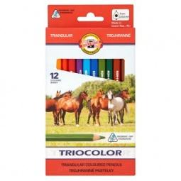 фото Набор карандашей цветных Koh-I-Noor Jumbo Maxi