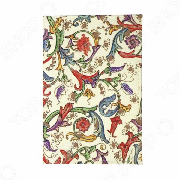 Обложка для паспорта кожаная Mitya Veselkov «Райский сад»Обложки для паспортов<br>Обложка для паспорта кожаная Mitya Veselkov Райский сад станет отличным дополнением к набору аксессуаров и подчеркнет вашу креативность и неповторимый вкус. Модель выполнена из натуральной кожи, отличается стильным дизайном и великолепным качеством исполнения. Обложка декорирована односторонним принтом, подходит как для внутреннего, так и для заграничного паспорта. Торговая марка Mitya Veselkov это синоним первоклассного качества и стильного современного дизайна. Компания занимается производством и продажей часов, кошельков, обложек на документы и т.д. Креативность, оригинальность и творческий подход вот основные принципы торгового бренда Mitya Veselkov.<br>