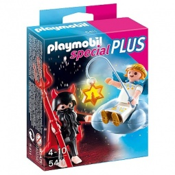 фото Набор фигурок к игровому конструктору Playmobil «Дополнения: Ангел и Демон»