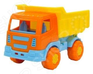 Машинка игрушечная Полесье «Тема самосвал» машинка игрушечная dickie самосвал man airpump