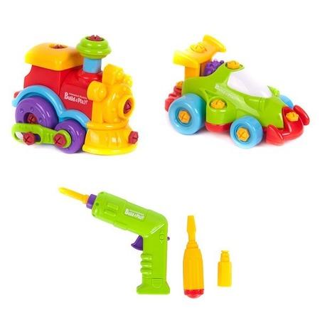 Купить Игровой набор Keenway «Машинка и паровозик»