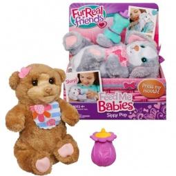 фото Мягкая игрушка интерактивная детская FurRealFrends Новорожденные зверята. В ассортименте
