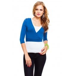 фото Болеро Mondigo 071. Цвет: джинсовый. Размер одежды: 42