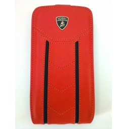фото Чехол Lambordghini Flip Case Gallardo D2 для Samsung S3 I9300. Цвет: оранжевый