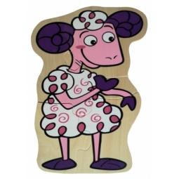 Купить Пазл деревянный ADEX «Овца»