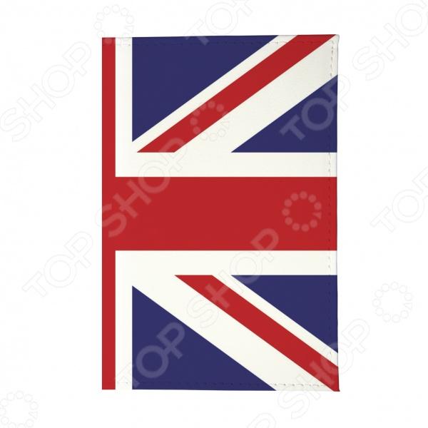 Обложка для автодокументов Mitya Veselkov «Британский флаг»