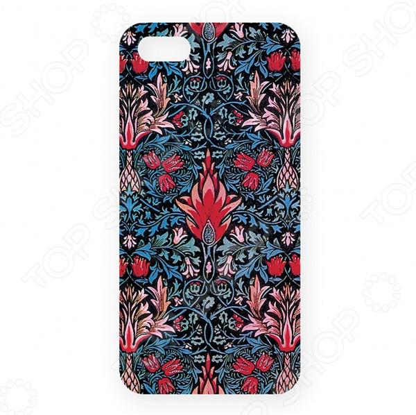 Чехол для iPhone 5 Mitya Veselkov «Тюльпановый принт»