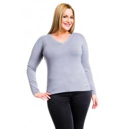 фото Джемпер Mondigo XL 9131. Цвет: серый. Размер одежды: 48