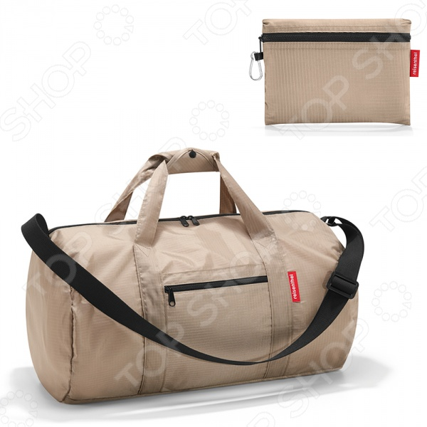 Сумка складная Reisenthel Mini Maxi DufflebagСумки для покупок<br>Сумка складная Reisenthel Mini Maxi Dufflebag это удобная сумка, которая подходит как для хранения продуктов, так и походов в магазин или в спортзал. Она легко складывается в небольшой чехольчик, а в плоском виде подходит для легкой транспортировки и хранения. Основное отделение закрывается на молнию, а снаружи есть два внешних кармана на молнии. Ручки регулируются с помощью специальных застежек.<br>