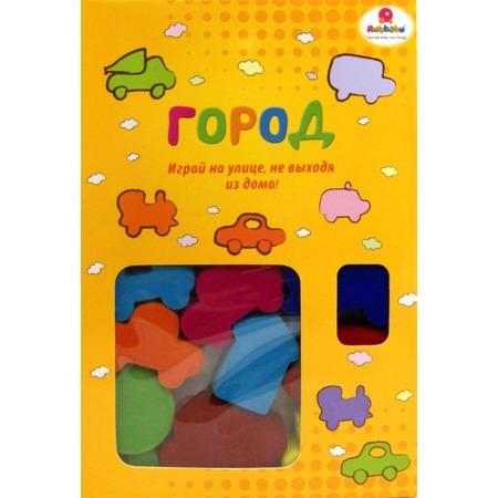 Купить Набор игровой из каучука Rubbabu Город