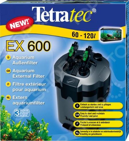 Фильтр внешний для аквариума Tetra Tetratec EX комплект из 5-ти фильтрующих наполнителей: керамические кольца, био-губка, био-шарики, угольный наполнитель для удаления вредных органических примесей и волокнистая прокладка. Такая фильтрующая система необходима каждому обладателю аквариума, так как она превосходно справляется с комплексной очисткой, подготовкой водопроводной воды к проживанию в ней рыб, а также обогащению необходимыми микроэлементами. Фильтр не издает много шума, абсолютно безвреден для здоровья обитателей аквариума.