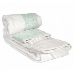 фото Комплект полотенец из махры Tete-a-Tete Т-МП-6463-04. Цвет: бирюзовый