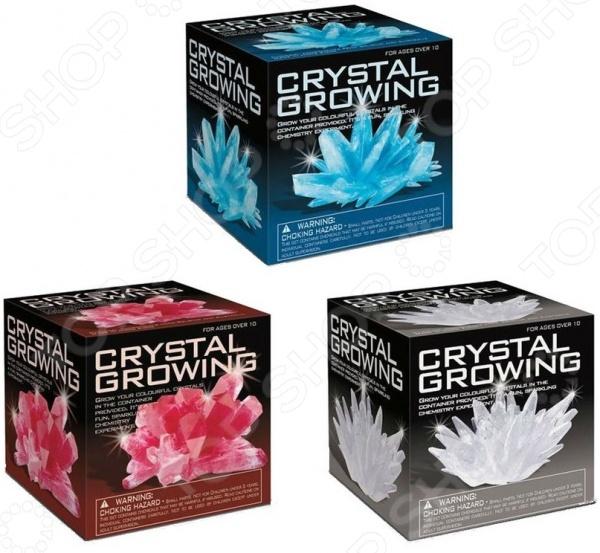 Набор для выращивания кристаллов 4M «Удивительные кристаллы. Мультицвет» наборы для выращивания растений вырасти дерево набор для выращивания ель канадская голубая