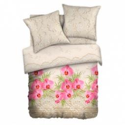 фото Комплект постельного белья Любимый дом «Кружевная орхидея». 1,5-спальный