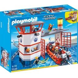 фото Конструктор игровой Playmobil «Береговая охрана: Береговая станция с маяком»