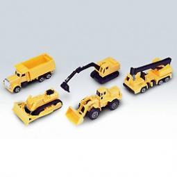 Купить Набор машинок игрушечных Welly «Строительная бригада»