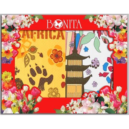 Купить Комплект из 2-х разнофактурных полотенец подарочный BONITA «Путешествие»