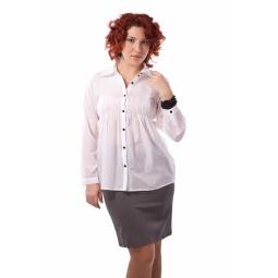 фото Блузка Mondigo XL 9645. Цвет: белый. Размер одежды: 52