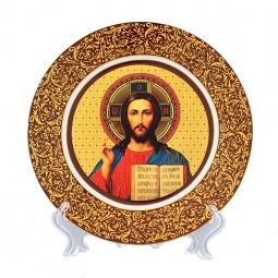 Купить Тарелка декоративная Elan Gallery «Иисус Христос» 340026