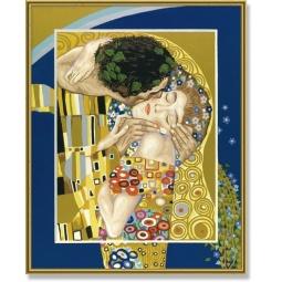 фото Набор для рисования по номерам Schipper Репродукция «Поцелуй» Густав Климт