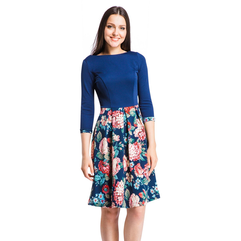 8c38ae8bfd060 Платье Mondigo 5161. Цвет: темно-синий. Размер одежды: 48 купить по ...