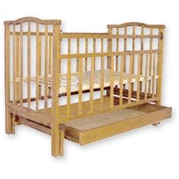 фото Кроватка детская Агат Золушка-4. Цвет: кремовый