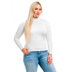 фото Водолазка Mondigo XL 264. Цвет: молочный. Размер одежды: 48